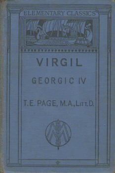 Georgic IV by Virgil 2