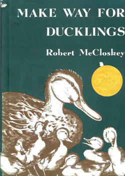 Make Way for Ducklings by Robert McCloskey 1